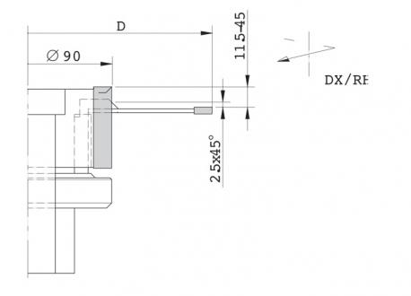Gruppo regolabile per tenonatrice stondante singola - D.220