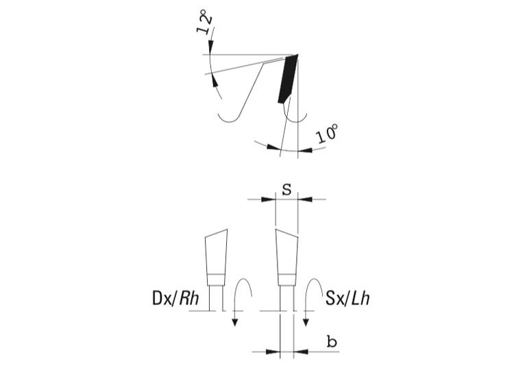 Lama circolare intestatori per bordatrici