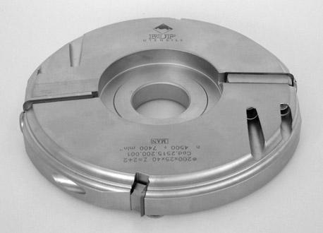 Testa porta coltelli multiprofilo per piattabande