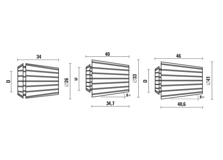 Pinze elastiche di precisione
