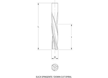 Frese elicoidali hw integrale z=3 (finitura)