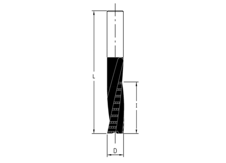 Frese elicoidali hw integrale z=3(sgrossatura/finitura)rivestite bupdia