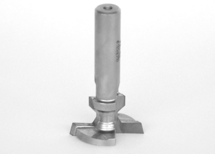 "Diamond ""t-slot"" router cutters."