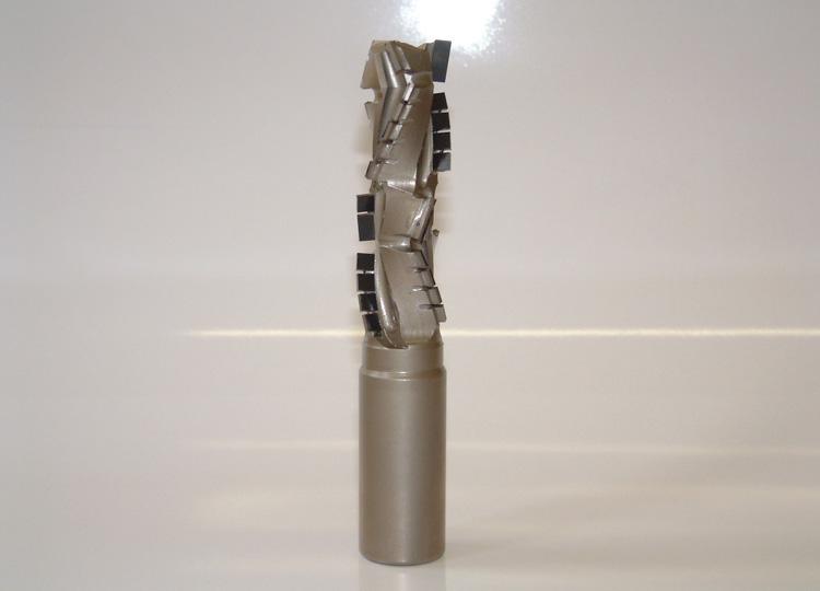 Fresa pantografo in diamante a doppia rotazione.